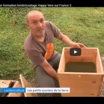 Atelier-formation lombricostage Happy Vers sur France 3