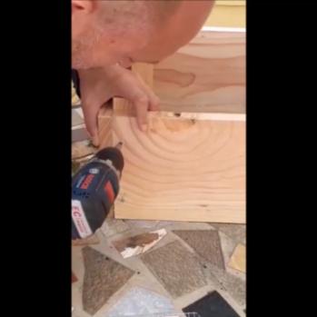 Comment monter/fabriquer son lombricomposteur bois