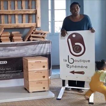 Happy Vers à la Boutique Ephémère, Oloron-Ste-Marie Octobre 2019